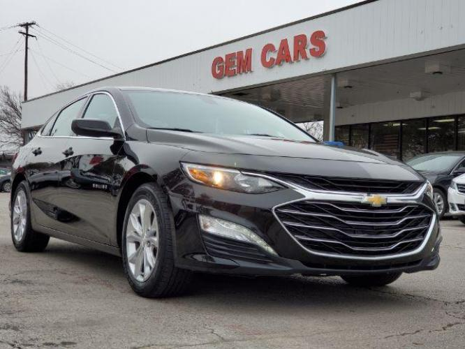 2020 Black /Black Cloth Chevrolet Malibu LT (1G1ZD5ST5LF) with an 1.5L L4 DOHC 16V engine, 6-Speed Automatic transmission, located at 12182 Garland Rd, Dallas, TX, 75218, (214) 521-2040, 0.000000, 0.000000 - Photo #0