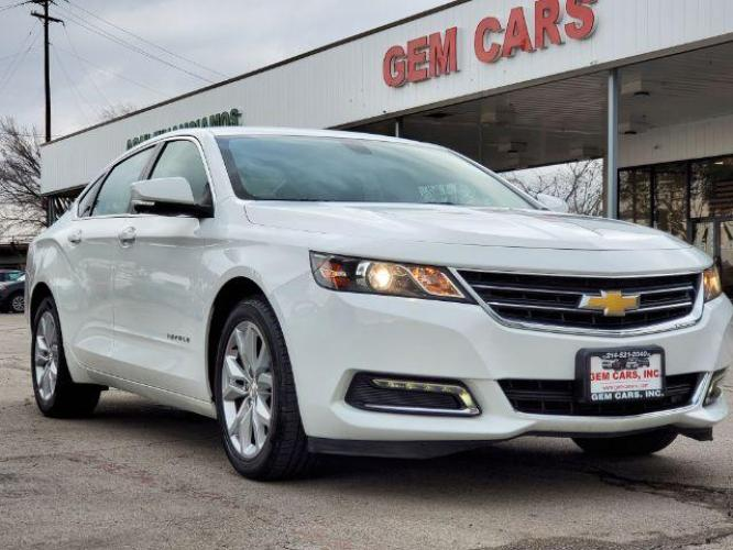 2020 Summit White Chevrolet Impala LT (2G11Z5S39L9) with an 3.6L V6 DOHC 24V engine, 6-Speed Automatic transmission, located at 12182 Garland Rd, Dallas, TX, 75218, (214) 521-2040, 0.000000, 0.000000 - Photo #0