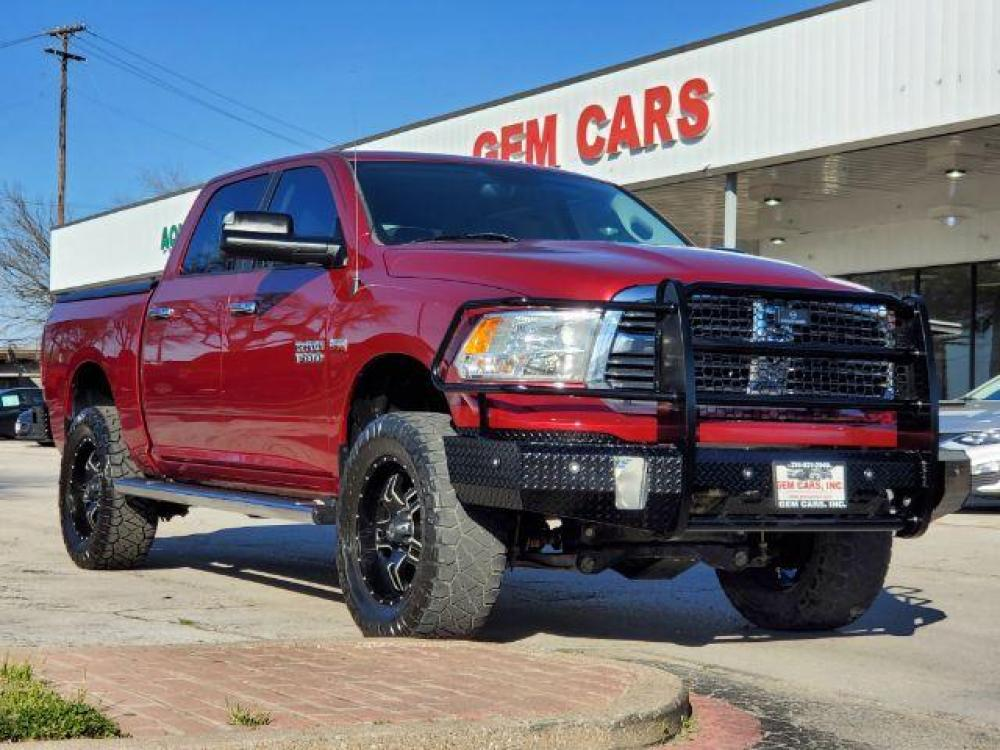 2015 RED RAM 1500 SLT Crew Cab SWB 4WD (1C6RR7LT8FS) with an 5.7L V8 OHV 16V engine, 8-Speed Automatic transmission, located at 12182 Garland Rd, Dallas, TX, 75218, (214) 521-2040, 0.000000, 0.000000 - Photo #0