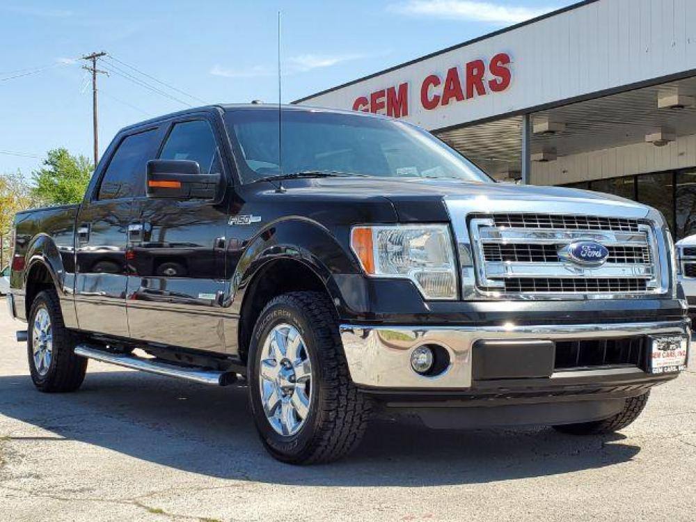2014 Gray /Steel Gray Ford F-150 XLT SuperCrew 5.5-ft. Bed 2WD (1FTFW1CT2EK) with an 3.5L V6 TURBO engine, 6-Speed Automatic transmission, located at 12182 Garland Rd, Dallas, TX, 75218, (214) 521-2040, 0.000000, 0.000000 - Photo #0